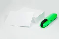 papierowej sterty biel Zdjęcie Stock