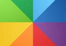 Papierowej tekstury kolorowy tło Obraz Royalty Free
