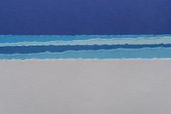 Papierowej tekstury kolorowy tło Zdjęcia Royalty Free
