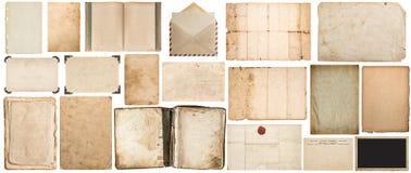 Papierowej tekstury książki fotografii ramy kopertowy kartonowy kąt Fotografia Royalty Free