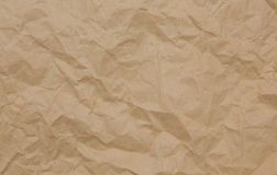 Papierowej torby tło Obraz Stock