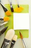 Papierowi elementy dla karty lub rezerwaci Obrazy Stock