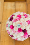 Papierowi kwiaty balowi Zdjęcie Royalty Free