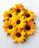 Papierowi słoneczniki Fotografia Royalty Free