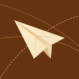 papierowi samoloty Fotografia Stock