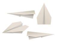 papierowi samoloty Zdjęcie Royalty Free