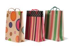Papierowi torba na zakupy Obraz Royalty Free