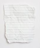 papierowy świstek