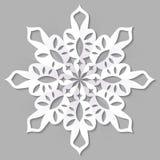 Papierowy Bożenarodzeniowy płatek śniegu Obraz Royalty Free