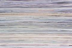 Papierowy bumph tekstury tło Fotografia Royalty Free
