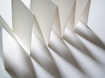 papierowy cień Obrazy Stock