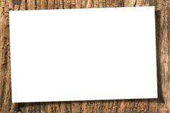 papierowy drewno Zdjęcia Stock