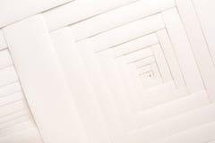 Papierowy geometryczny skład, abstrakcjonistyczny tło fotografia stock