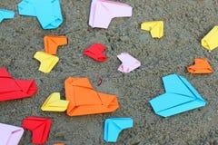 Papierowy kierowy kolorowy obrazy stock