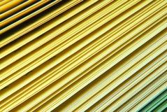 Papierowy koloru żółtego katalog Zdjęcie Stock