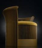 Papierowy krzesło Obraz Stock