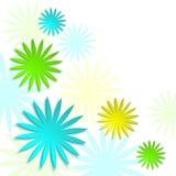 Papierowy kwiecisty wiosny i lata tło 3d origami kwiecisty pojęcie Obrazy Stock