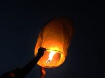 Papierowy lampion zdjęcie stock