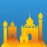 Papierowy meczet Obraz Stock