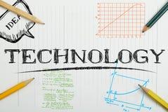 Papierowy notatnik z wpisową technologią, biznesowy pojęcie Zdjęcia Stock