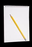 papierowy ołówek Obrazy Royalty Free