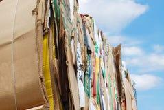 papierowy odpady Obrazy Stock