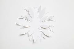 Papierowy origami kwiat Zdjęcie Stock