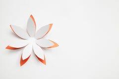 Papierowy origami kwiat Zdjęcia Stock