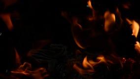 Papierowy palenie - Jaskrawy płomień zbiory