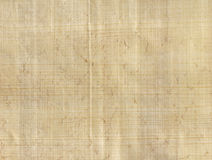 papierowy papirusowy pergamin Obrazy Royalty Free