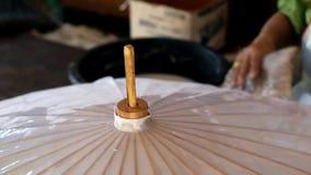 Papierowy parasolowy robić w Azja Południowo-Wschodnia zbiory