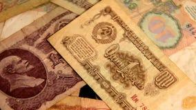 Papierowy pieniądze USSR zbiory wideo