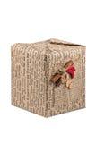 Papierowy prezenta pudełko z pikantność Obrazy Stock