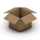 Papierowy pudełko Zdjęcia Stock