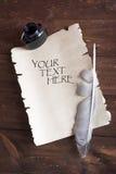 papierowy rocznik Zdjęcie Royalty Free