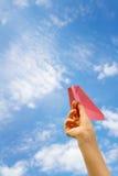 Papierowy samolot zdjęcie stock
