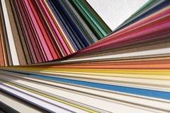papierowy sampler obraz stock