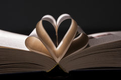 Papierowy serce Fotografia Stock