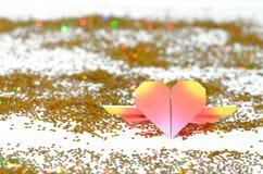 Papierowy serce Zdjęcie Royalty Free