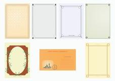 papierowy set ilustracji