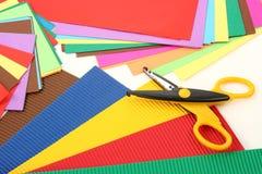 papierowy set Fotografia Stock