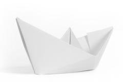 papierowy statek zdjęcie stock