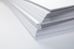 papierowy stos Obrazy Stock