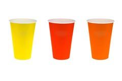 Papierowy szklany kolorowy Zdjęcia Stock