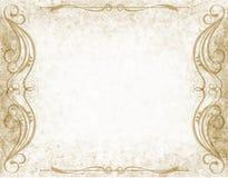 Papierowy tło z zawijasem royalty ilustracja
