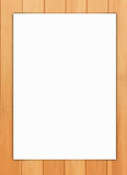 papierowy tła drewno Obrazy Stock