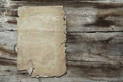 papierowy tekstury rocznika drewno Zdjęcie Royalty Free