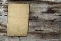 papierowy tekstury rocznika drewno Fotografia Stock