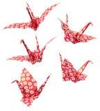 Papierowy żuraw Fotografia Stock