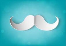 Papierowy wąsy ilustracji